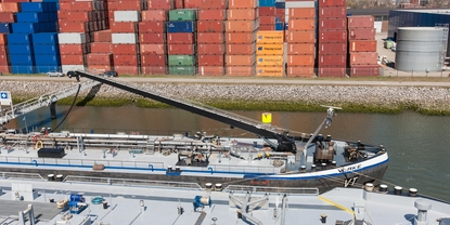 Bunker fuel metering system on barges or on shore: Our solution creates maximum transparency
