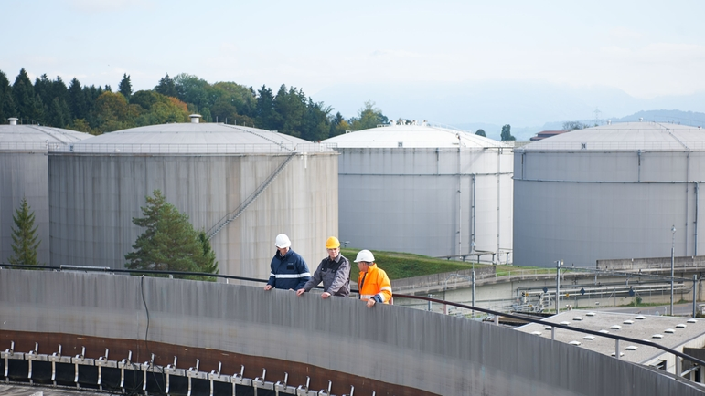 Tank Farm at a Terminal Rothenburg