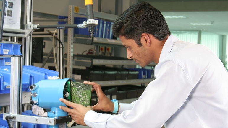 State-of-the-art manufacturing technology and standardized, globally networked production plants