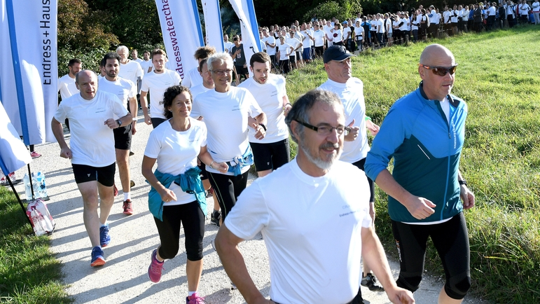 Start of the Endress+hauser Water Challenge in Reinach