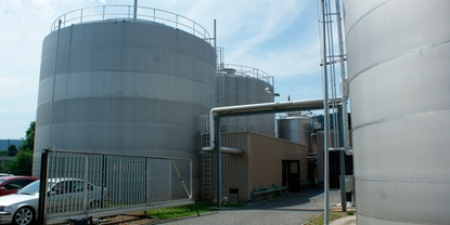 Sustainable wastewater treatment at Emmi's milk processing plant in Dagmersellen, Switzerland